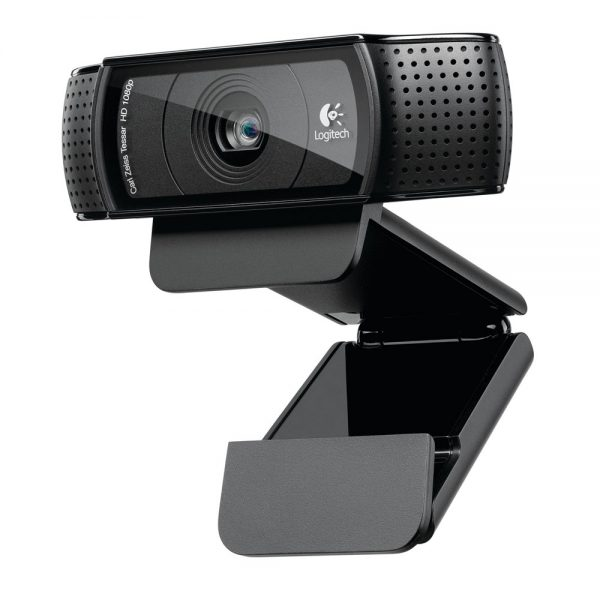 Grâce à la Webcam HD Pro C920-v